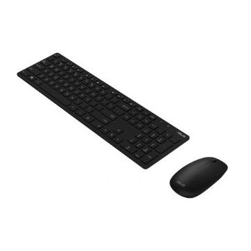 Asus W5000 Wireless Keyboard and Mouse Desktop Kit, Multimedia